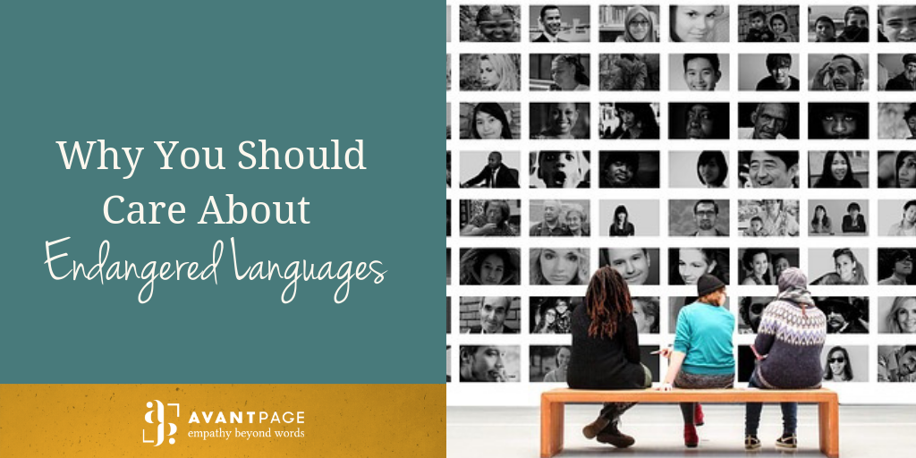 Why You Should Care About Endangered Languages