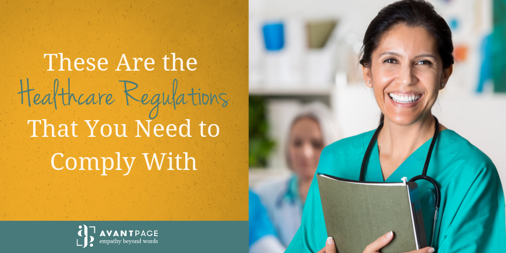 These Are the Healthcare Regulations That You Need to Comply With